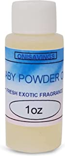 Onisavings Baby Powder Fragrance Oil عالی بوی عجیب و غریب و ماندگار (1 اونس)