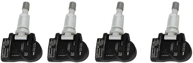 Terisass TPMS 52933B1100 4Pcs Car Tire Pressure Monitoring Sensor 52933-3N100 Fit for Hyundai Elantra i30 Ionq Kona 2015 2016 2017 for Kia NIRO Optima JF Sportage 2015 2016 2017 2018