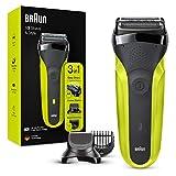 Braun Series3 Shave&Style 300BT Rasoir Électrique Barbe Homme, Noir