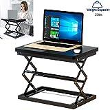 YAOBAO Tragbar Steh-Stuhl-Schreibtisch, Sitz-...