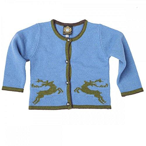 Hammerschmid Kinder-Strickpullover Hamar 64916, Größe:92;Farbe:Blau