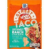 chicken taco mix - McCormick Street Taco Southwest Ranch Chicken Seasoning Mix, 0.87 oz (Pack of 12)