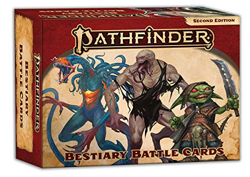 Pathfinder Bestiary Battle Cards P2