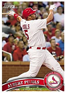 2011 Topps Baseball Cards Complete 330 Card Set (Series 1) - Includes 30 Rookies, League Leaders, Record Breakers, MVP Winners, ROY Winners, and more!!