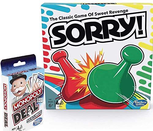 Classic Sorry! mit Bonus Monopoly Deal   Bundle von Brishan