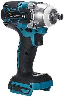 Nicetruc 18v Elektro schlagschrauber 1/2 zoll brushless Cordless, Drehmoment 520nm Schlüssel Power Tool Schlagfrequenz: 0 4000ipm