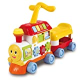 Include luci, suoni e musica Bontempi PiccinoPicciò BRT 4731 Baby Treno Cavalcabile