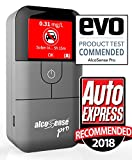 AlcoSense Pro Fuel Cell Breathalyser/Breathalyzer & Alcohol Tester - Sunday Times - Rating: 5 Stars'Impressively Accurate' & Auto Express 2018 Recommended