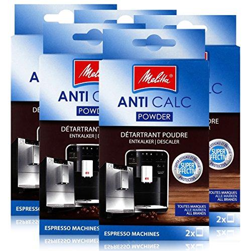 5 x cafeteras Melitta Anticalc