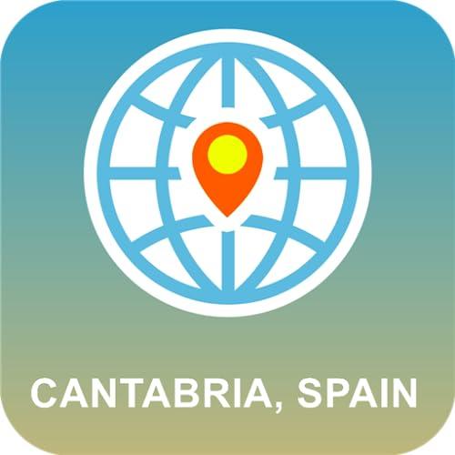 Cantabria, España Mapa
