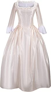 Cos-Love Women's Colonial Lady Corset Styled Dress Victorian Rococo Ball Gown Maiden Costume Plus Size Medieval Dress