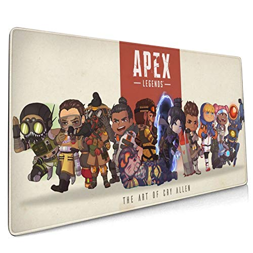 Apex Legends Durable, Thick Design, Office, Gaming Mouse Pad 15.8x35.5 in