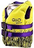 SSSplash Mini Life Jacket Beer Beverage Kozie Insulator (Flouroescent Yellow)