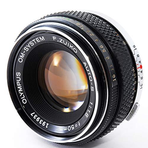 Olympus OM-SYSTEM F.Zuiko Auto-S 50mm f1.8 1:1.8