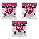 Lotto di 3x100 Filtri per macchine da caffè Americano Libro Bianco - Hario V60 02 - VCF-02-100W Importazioine dal Giappone