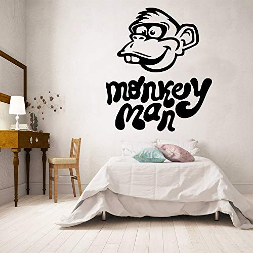 Tianpengyuanshuai aap gesneden heren decoratie voor het huis acryl decoratie voor kinderen slaapkamer muur sticker slaapkamer waterdicht vinyl muursticker