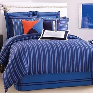 Welspun Nautica Riverbend Twin Comforter Set, Blue