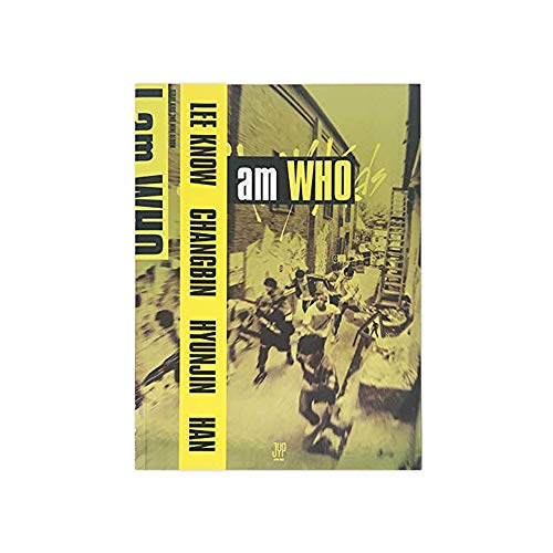 STRAY KIDS I am Who (Who Version) 2nd Mini Album CD+Photobook+3 QR Photocards+Lyrics Poster+(Extra 4 Photocards and 1 Double-Sided Photocard Set)