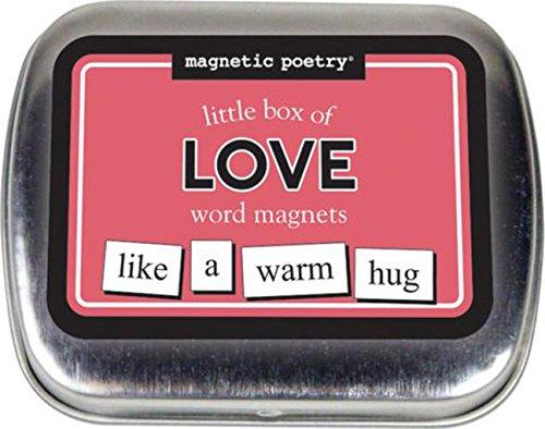 magnetisch Poesie Little Box Of Words–Love