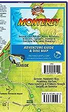 Monterey California Adventure & Dive Guide Franko Maps Waterproof Map