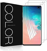 G-Color Galaxy S10 Plus Protector de Pantalla, [2 Piezas][[Alta Definición y Sensibilidad][Sin Burbujas] TPU, Protector de Pantalla para Samsung Galaxy S10+/S10 Plus