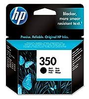HP 350xlブラックインクカートリッジ