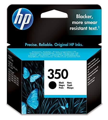 HP Cartucho Negro de inyección de Tinta HP 350 350 Inkjet Print Cartridges, 15 a 30° C, 116 x 36 x 115 mm