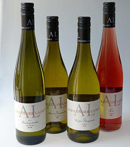 """Schwarzwald Metzgerei - Wein Sortiment """"Weißweine Alexander Laible"""" - aktueller Jahrgang - 6 x 0,75l"""