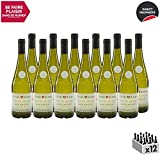 Vin de Savoie Cuvée Royale Apremont Vieilles Vignes Blanc 2018 - Maison Perret - Vin AOC Blanc de Savoie - Bugey - Cépage Jacquère - Lot de 12x75cl
