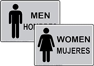 Best spanish bathroom signs Reviews