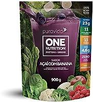 One Nutrition Açaí com Banana Proteína Vegetal Frutas Verduras e Vegetais 900g - Puravida