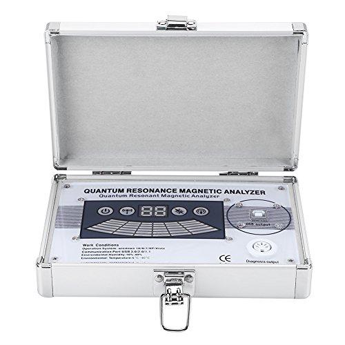 Analizador Cuántico, 45 Informes Mini Analizador de Resonancia Magnética Cuántica de Tercera Generación Detector de Salud Secundaria Analizador Eléctrico de Salud Corporal para Windows 10/8/7/XP/Visa