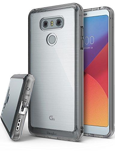 Ringke Funda LG G6, G6 Plus [Fusion] Protector de TPU con Parte Posterior Transparente de PC [Protección…