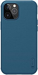 Nilkin Case For iPhone 12 Pro Max/12 Pro /12 - Hard Back Cover - Flexible Frame - Full Protection - Slim and Lightweight (...