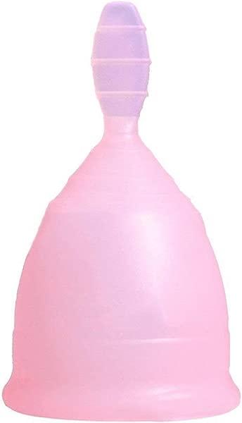 73JohnPol Lady decharge decharge menstruelle Tasse Gel Silicone reutilisable Coupe menstruelle Coupe securite sans Fuite Coupe feminine Soins vaginaux  Rose