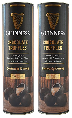 Trufas cremosas de chocolate oscuro Guinness Tubo 320g x 2 paquetes