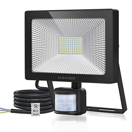 MEIKEE 60W Foco LED con Sensor de Movimiento, Proyector Led Exterior con...