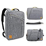 Roxie Laptop Bag 17 17.3 Inch Water Resistant Laptop Backpack Messenger Briefcase Carrying Handbag Sleeve for Acer Asus Dell HP Lenovo Samsung Sony Laptop Notebook Netbook Chromebook