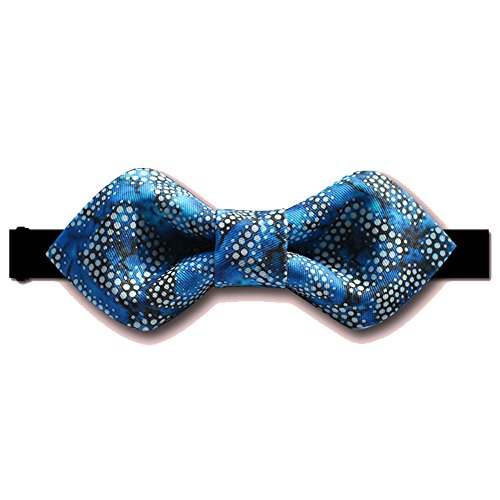Noeud Papillon Bleu Haut Luxe Vesicules Rush Serie Fete De Mariage
