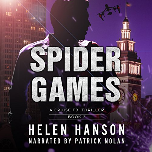 Spider Games audiobook cover art