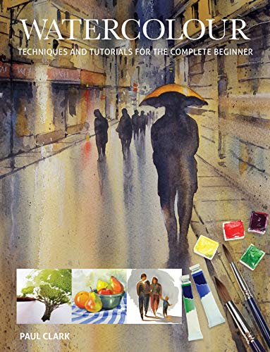 Watercolour: Techniques and Tutorials for the Complete Beginner (Art Techniques) (English Edition)