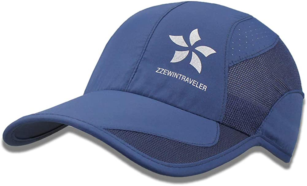 ZZEWINTRAVELER Quick Dry Cap Running Lightweight Breathable Seattle Mall Super sale period limited Hats