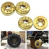 Benedict Harry 4Pcs Internal Wheel Weights for 1/10 RC 1.9'/2.2' Beadlock Wheel Rims