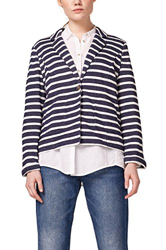 edc by Esprit 038cc1g022 Cardigan, Blu (Navy 400), Medium Donna