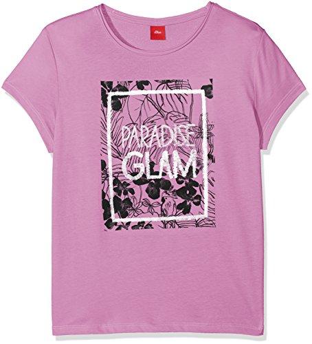 s.Oliver s.Oliver Mädchen 66.805.32.5226 T-Shirt, Pink (Light Pink 4445), 176 (Herstellergröße: XL/REG)