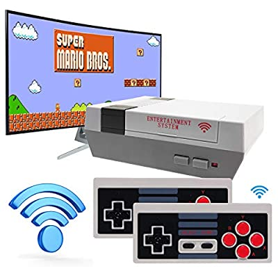 LIFTREN Classic Handheld Game Console, Wireless Classic Game Console Built-in 620 Game Handheld Game Console, Video Game Player Console