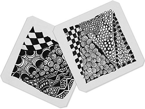 Studio Series Artist's Tiles: White (75 pack)