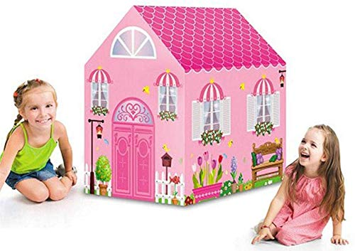 Ydq Kids Play Tent, Princess Houses Great Tractor Toy, Sun Shelter Playhouse | Den for Indoor Outdoor Garden Gazebo for Children Camping Picnic Travel