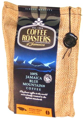 Coffee Roasters of Jamaica - 100% Jamaika Blue Mountain Kaffee-Spezialitäten, ganze Arabica Kaffeebohnen, 1er Pack (1 x 227 g)