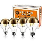 Karlunkoy Half Chrome Light Bulb 6W (60W...